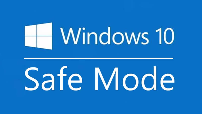 vào safe mode win 10