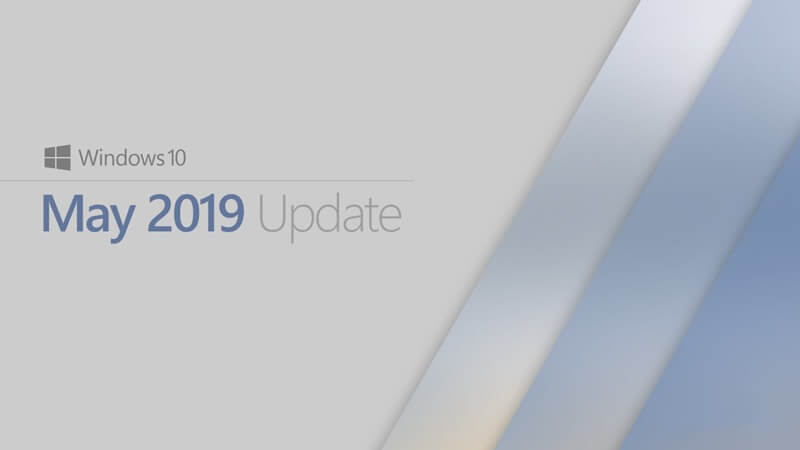 windows 10 may update 2019